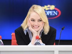 US Open Press Conference for 'Battle of the Sexes' - September 9