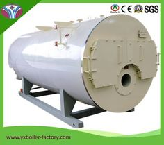 WNS10T-1.25-Y High Efficiency PLC Control Stainless Steel Feed Water Pump Oil Fueled Steam Boilers image