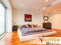 Habitación pensada para vidas urbanitas - Ático Diagonal #Barcelona #minimalista