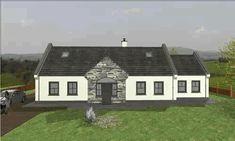 dorm095 Dormer Bungalow, Small Bungalow, Bungalow House Plans, Bungalow House Design, Future House, My House, House Designs Ireland, Georgian Interiors, Bungalow Exterior