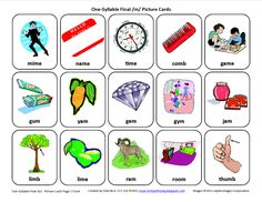 Testy yet trying: Final M: Free Speech Therapy Articulation Picture Cards