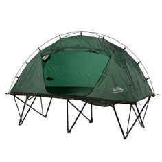 Tent Camping in Kamp-Rite Tent Cots | A little bit of comfort goes a long way!