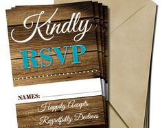 Rustic Wedding RSVP - Wood Background - Edit Listing - Etsy