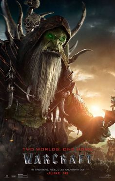 this is a picture of gul'dan from the world of warcraft movie Warcraft Film, Warcraft 2016, World Of Warcraft, Warcraft Game, Art Warcraft, Warcraft Characters, Jurassic World, Orc Warrior, War Craft