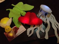 Light-up Plush Toys from bitwise E-textiles