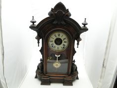 ANTIQUE SETH THOMAS MANTEL CLOCK ESTATE