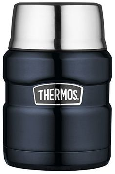 Thermos Stainless Steel King 16 Ounce Food Jar, Midnight Blue