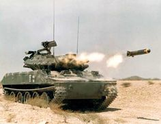 M551 Sheridan. Great concept that should have been developed further.