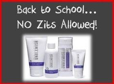 Acne does not do the teenager's self esteem well (or any age).  Do not pay retail - let me save you 10% and get you free shipping by enrolling as a Preferred Customer.  Risk FREE considering our products are clinically proven, results guaranteed or your full money back.  Let's get some ordered for you today.  https://vanessakezios.myrandf.com/Shop/Unblemish