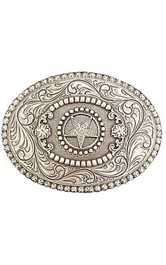 M Western Products® Oval Star Buckle | Cavender's Boot City