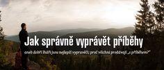 """Dobří lháři jsou nejlepší vypravěči aneb pravda o reklamách na produkty s """"příběhem"""" co se vymkly kontrole. Taky nemám to klišé rád, ale hrozně rád poslouchám když někdo něco říká. Máme to rádi všichni. Využijte toho! #VaseJmenoJeVaseZnacka #Podcast #Návody #Česky"""