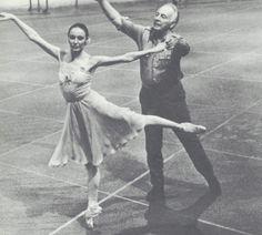 Patricia McBride & Georges Balanchine