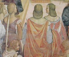 1505-1508-Siena-back-view  The fresco at Monte Oliveta by Il Sodoma