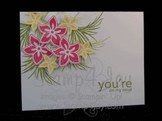 Tropical Party by Stampin' Up!