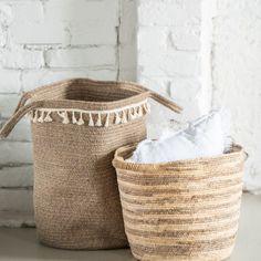 Hamper, Laundry Basket, Wicker, Caribbean, Organization, Interior, Home Decor, Getting Organized, Homemade Home Decor