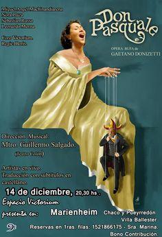 Don Pasquale. Opera buffa by Gaetano Donizetti.