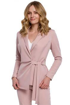 Ένας χώρος με ιδιαίτερα γυναικεία ρούχα και αξεσουάρ , με υψηλή ποιότητα και προσιτές τιμές. Έχουμε τα πιο στιλάτα είδη μόδας, μην ψάχνετε πουθενά αλλού, το Blush Greece είναι το δικό σας προσωπικό κατάστημα. Pink Ties, Printed Trousers, Blazer, Powder Pink, Belt Tying, Slim Legs, Looking Stunning, Classic Looks, Wrap Style