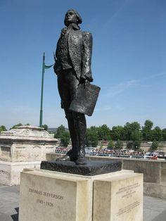 Thomas Jefferson, Quai Anatole France, Paris VII