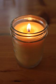 homemade diy container candles beeswax paraffin soy wax