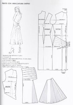 low back dress pattern