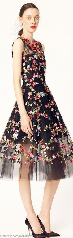 Oscar de la Renta | Resort 2014 #fashion