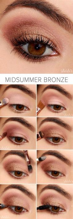 Best Eyeshadow Tutorials - Navy and Plum Smokey Eyeshadow Tutorial - Easy Step by Step How To For Eye Shadow - Cool Makeup Tricks and Eye Makeup Tutorial With Instructions - Quick Ways to Do Smoky Eye, Natural Makeup, Looks for Day and Evening, Brown and Smokey Eyeshadow Tutorial, Eyeshadow Tutorial For Beginners, Bronze Eyeshadow, Best Eyeshadow, Eyeshadow Tutorials, Makeup Eyeshadow, Bronze Makeup, Eyeshadow Ideas, Sparkly Eyeshadow