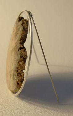 landslip bark brooch