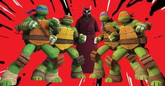 TMNT Challenge Day 7: Least favorite ship...pretty much all of them!  But especially the turtlecest ships.  (Ick!)