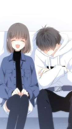 🌻Fl my printerest : Hạnh Lee🌻 to see more best pic about Anime couple so kute 💖 Kawaii Anime, Anime Cupples, Anime Amor, Fanarts Anime, Couple Manga, Anime Love Couple, Manga Romance, Best Anime Couples, Anime Bebe