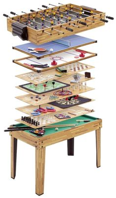 Mightymast Leisure 20 in 1 Multigame Table (Mightymast) Table Games, Magnets, Board, Gifts, Accessories, Ebay, Furniture, Home Decor, Board Games