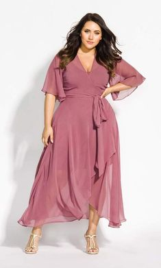 City Chic Enthral Me Maxi Dress - rose Affordable Formal Dresses, Plus Size Formal Dresses, Plus Size Outfits, Plus Size Dresses To Wear To A Wedding, Plus Size Bridesmaids Dresses, Plus Size Summer Clothes, Mother Of The Bride Dresses Plus Size, Plus Size Long Skirts, Plus Size Vintage Dresses