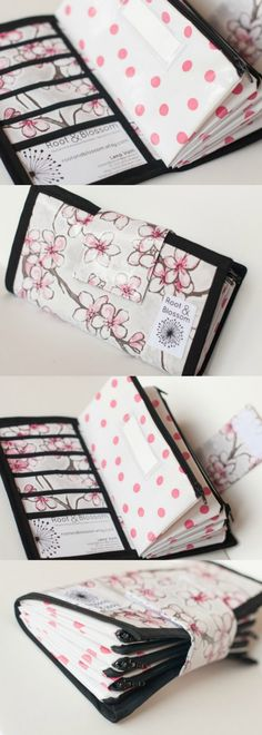Cute Dave Ramsey Wallet, Envelope System, Organize Your Finances
