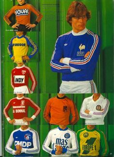 Adidas 1981 Catalogue Page
