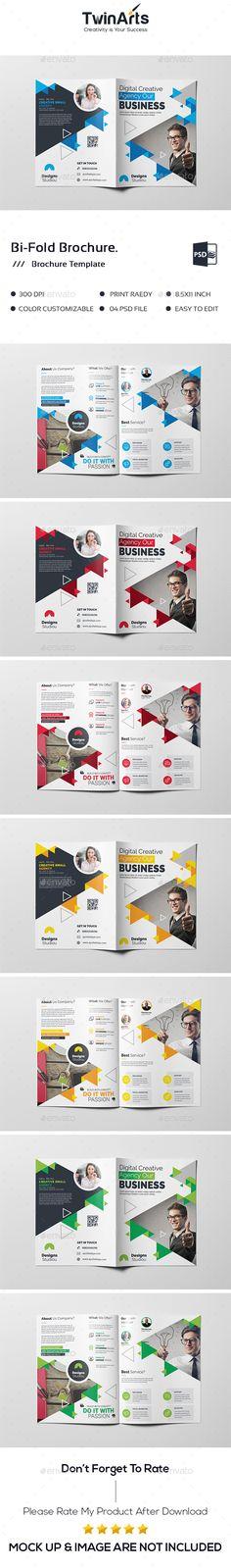 Bi-Fold Brochure. - Brochures Print Templates