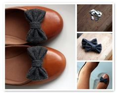 Love these! The shoes and the clip on bows. (etsy)