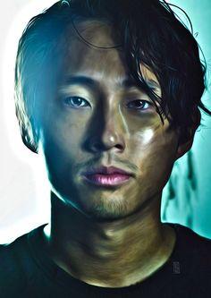 Brilliant Walking Dead Fan Art Features Portraits of Our Favorite Characters   moviepilot.com