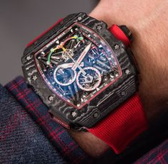When two cool brands combine here is the outcome Richard Mille World's Lightest Split-Second Chronograph RM 50-03 McLaren F1 1,058,500 CHF captured by our own David Bredan  Article coming soon.