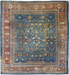 A Ziegler Mahal carpet, West Persia   Lot   Sotheby's