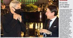 Il concerto per le vittime con Claudio Baglioni Bead