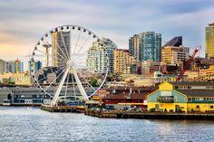 Seattle Waterfront piers