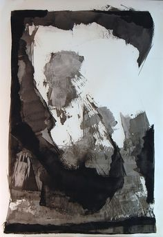 Karen Darling-Circuitous Series, oil and cold wax