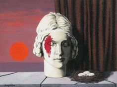 René Magritte, The Memory, 1944, private collection