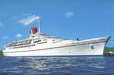 Carnival Cruise Line.Festivale  We sailed on her many years ago.  Now she's scrap.