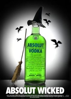 Edicao especial de Absolut Vodka inspirada em Wicked, o musical, Broadway, New York. http://www.weplann.com.br/nova-york/ingressos-wicked-musicais-broadway