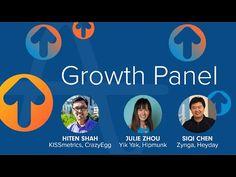 Growth Clinic Panel - Hiten Shah of KISSmetrics, Julie Zhou of Yik Yak, Siqi Chen of Hey - YouTube