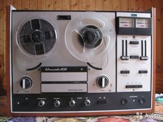 Илеть 101 stereo reel tape recorder