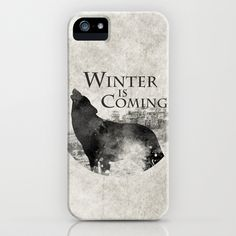 Game of Thrones - House Stark iPhone & iPod Case by MUSENYO - $35.00