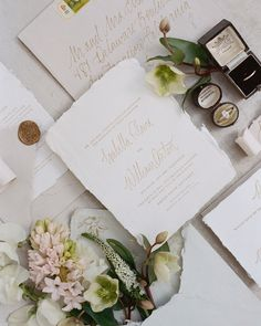 Ink Ivory Wedding Invitations, Addressing Wedding Invitations, Letterpress Invitations, Elegant Wedding Invitations, Wedding Stationery, Wedding Place Cards, Paper Goods, Dates, Torn Paper