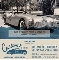 Customs By The Sea Wildwood!!! #customsbythesea #trog #trogeast @kustomrama by theraceofgentlemen