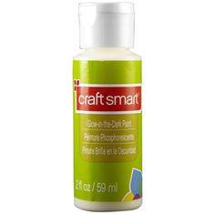 Craft Smart® Glow-in-the-Dark Paint $1.49